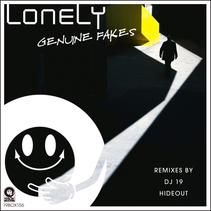 9BOX156 Lonely:GENUINE FAKESアートワーク