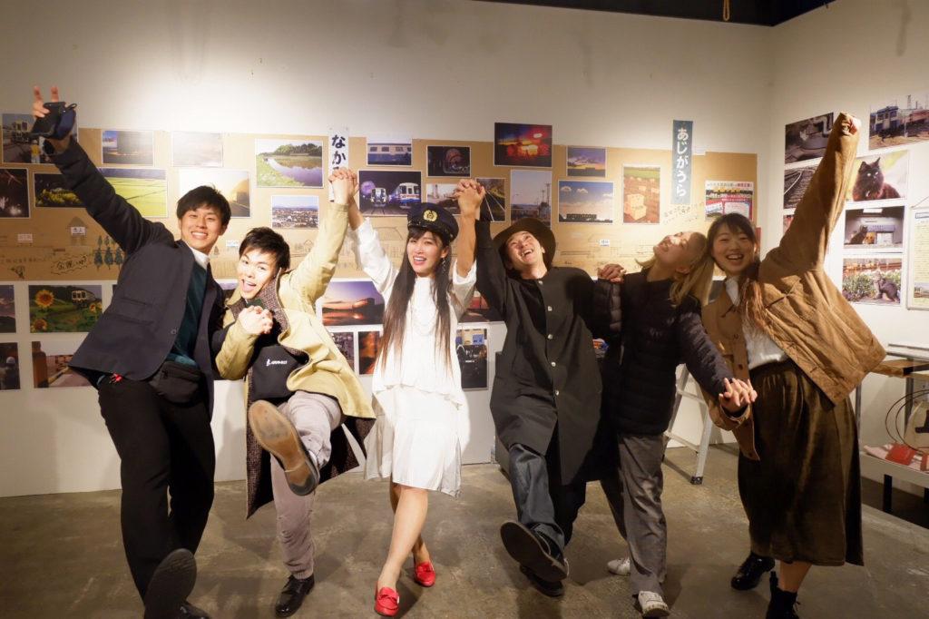 secret live筑波大学ダンス部とオニツカサリーちゃんと集合写真@secret GATE & CAFE