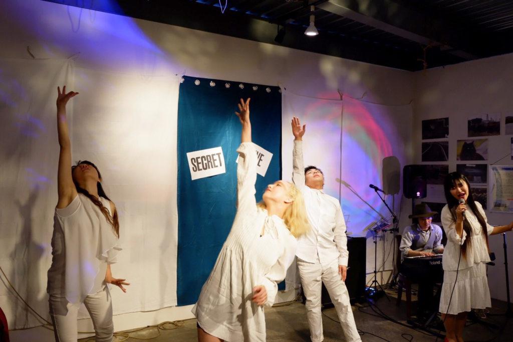 secretliveオニツカサリー&原田英明&筑波大学ダンス部2パート2@secret GATE & CAFE