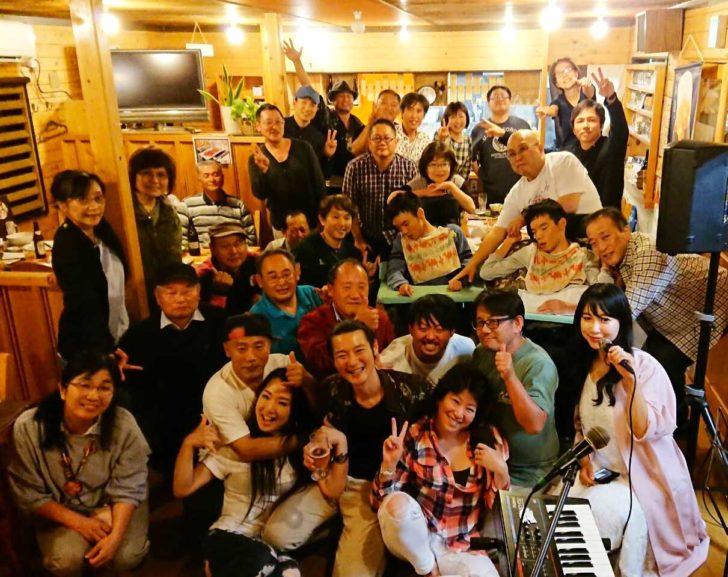 オニツカサリー×原田英明 LIVE Vol.1.2 アフターパーティーあるよんinママのごはん