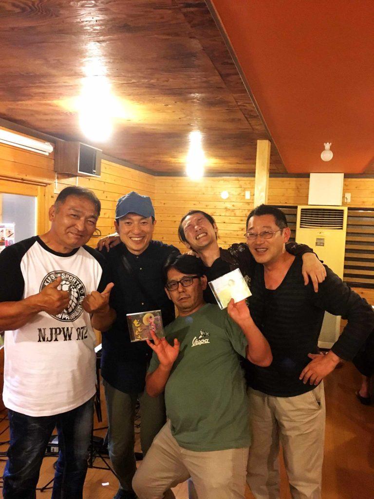 オニツカサリー×原田英明 LIVE Vol.1.2仲の良い男たち@ママのごはん