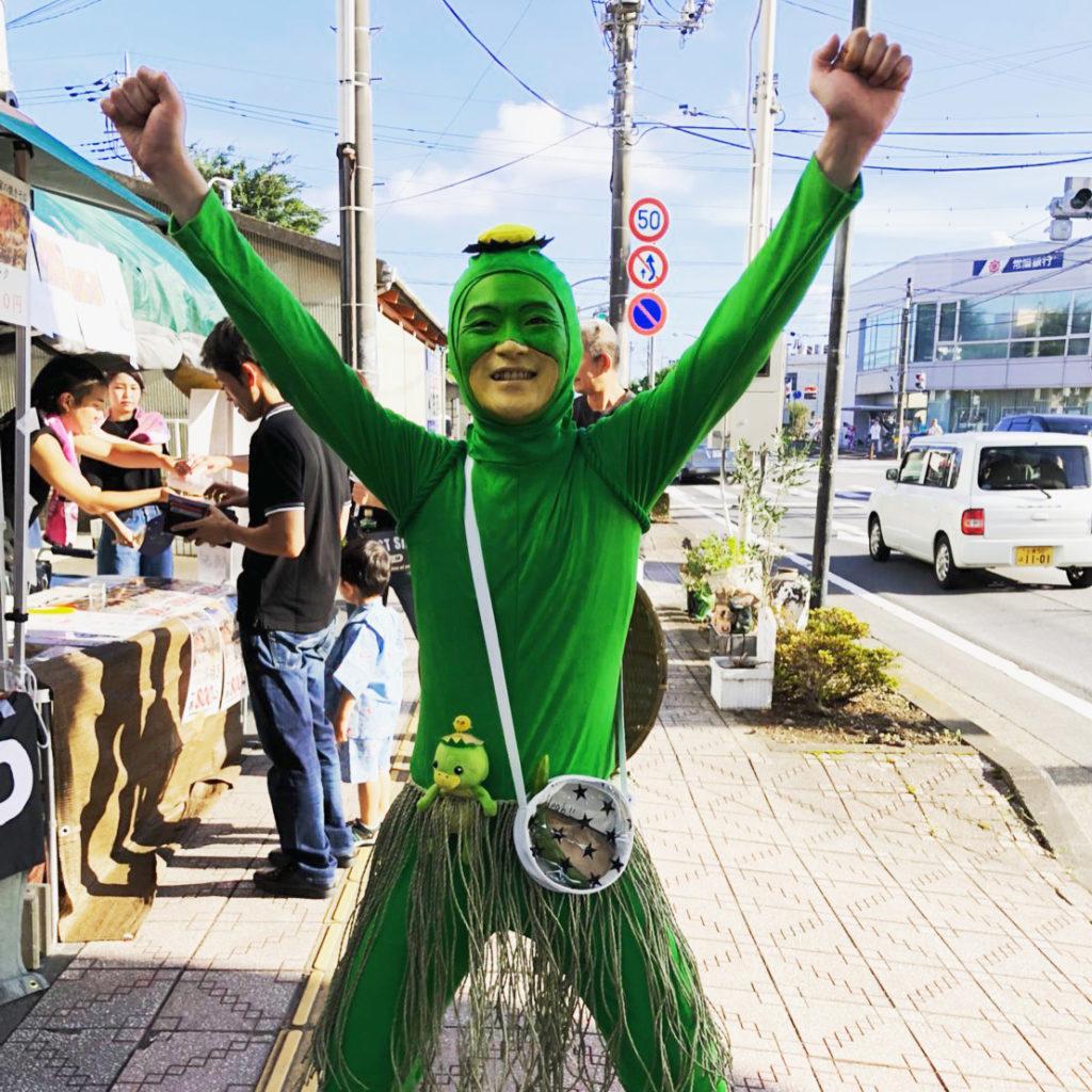 ひでかっぱ@第37回うしくかっぱ祭り