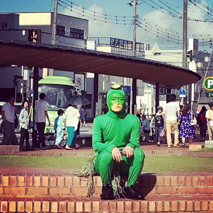 ひでかっぱ@牛久駅東口